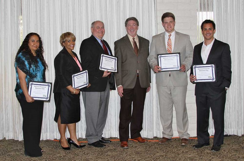 Financial Educators Day Recipients