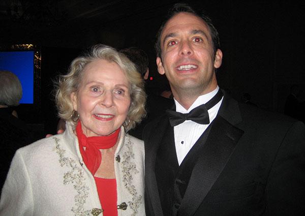 Dr Doris Lee McCoy and Vince Shorb