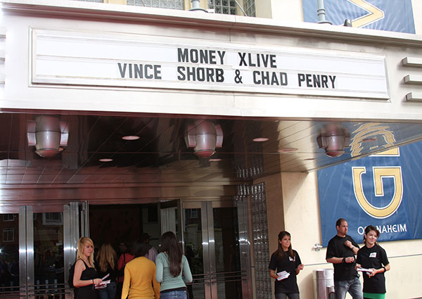 Vince Shorb Money XLive at the Grove