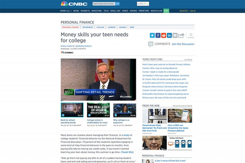 CNBC Article With Vince Shorb