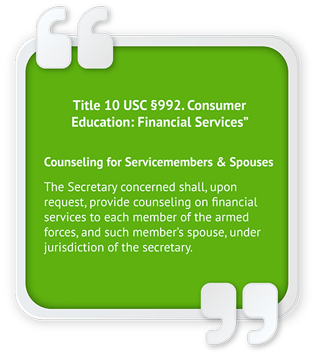 Concepts for Military Financial Literacy Extensions