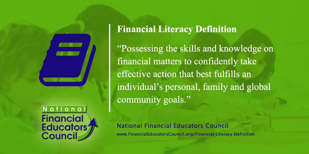 NFECs' Financial Literacy Definition Social Media Post