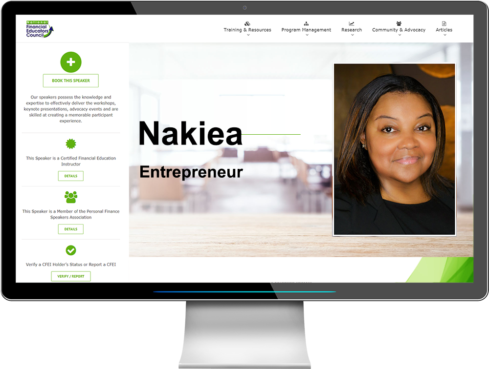 The NFEC Serves Entrepreneurs