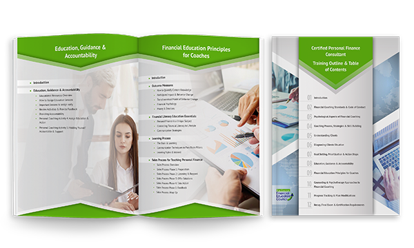 Breakdown of financial counselor certification Conclusions