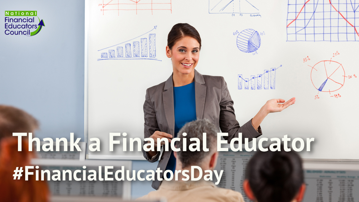 Thank a financial educator on Financial Educators Day