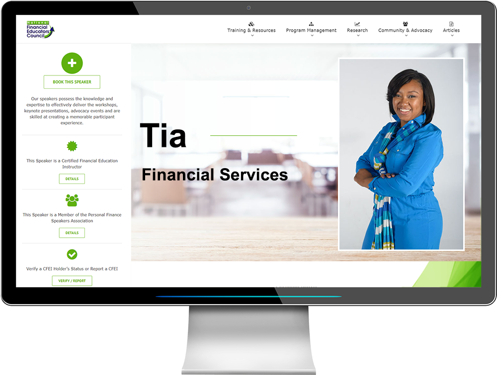 The NFEC Serves Financial Service Professionals