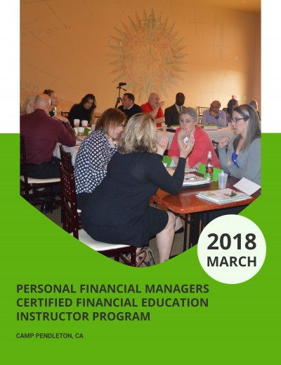 Financial Readiness Office Enterprise Financial Educator and Coach Team Training Report