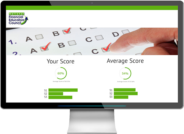 Financial Literacy Test: Take Online, Get Results & Data | NFEC